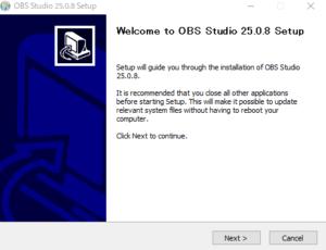 OBS Studioのセットアップ