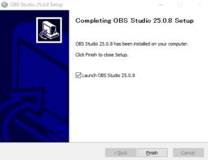OBS Studioのセットアップ3