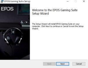 EPOS GSX300 ソフトウェアセットアップ