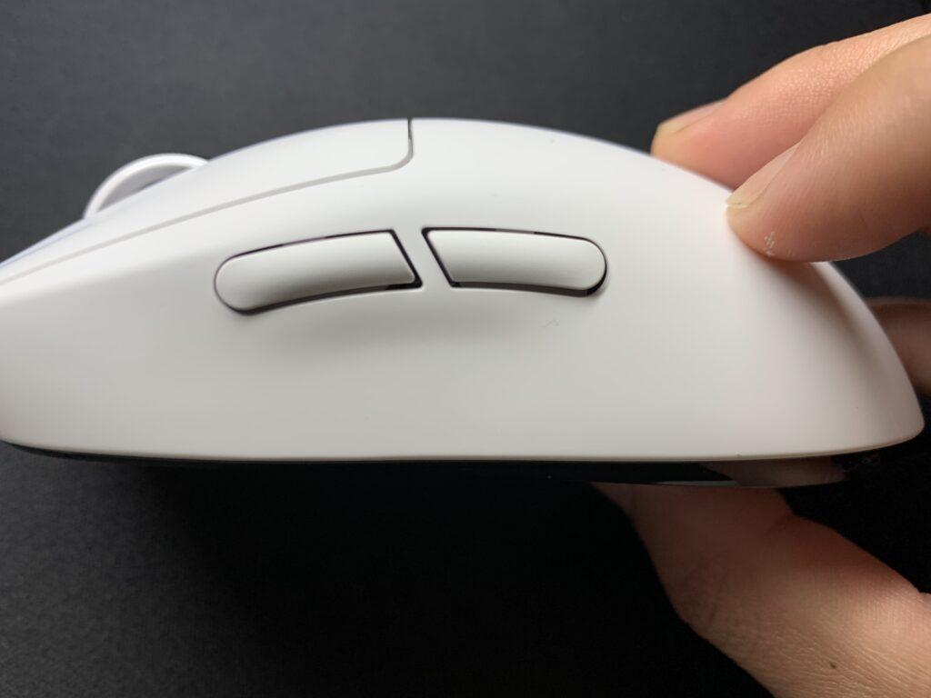 gproxサイドボタン